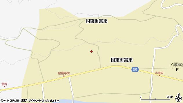 大分県国東市国東町富来1921周辺の地図