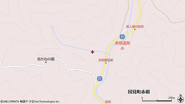 大分県国東市国見町赤根2130周辺の地図