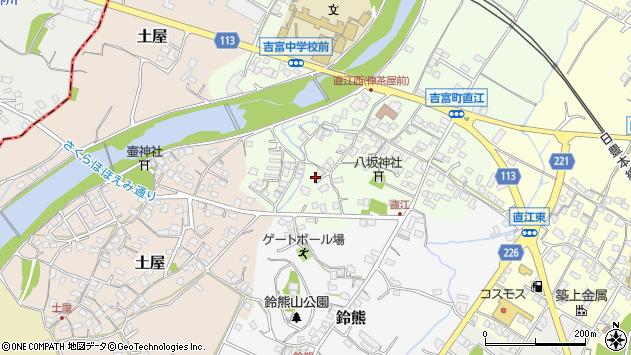 福岡県築上郡吉富町直江 地図(住所一覧から検索) :マピオン