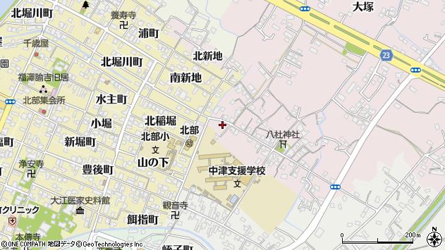 大分県中津市大塚30周辺の地図