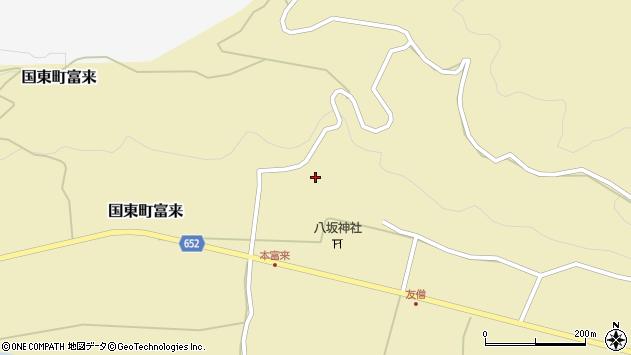 大分県国東市国東町富来902周辺の地図