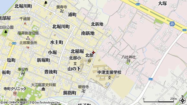 大分県中津市大塚24周辺の地図