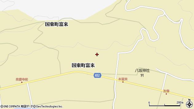 大分県国東市国東町富来1722周辺の地図