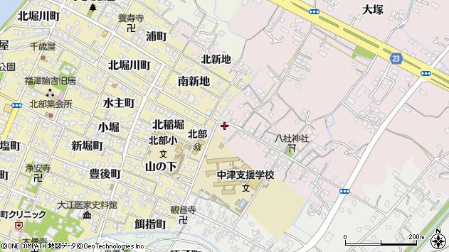 大分県中津市大塚27周辺の地図