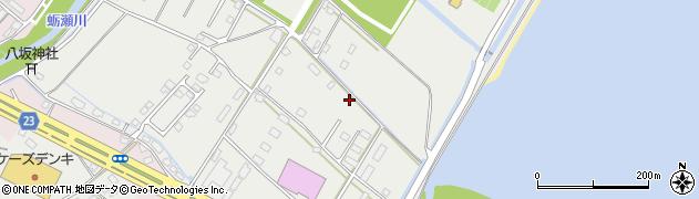大分県中津市蛎瀬1315周辺の地図