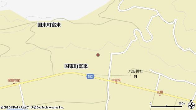 大分県国東市国東町富来1725周辺の地図
