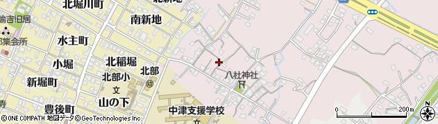 大分県中津市大塚119周辺の地図