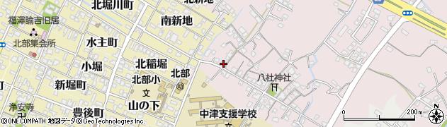 大分県中津市大塚135周辺の地図
