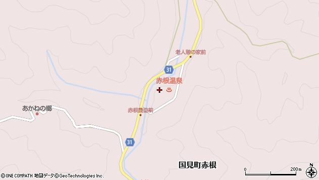 大分県国東市国見町赤根180周辺の地図