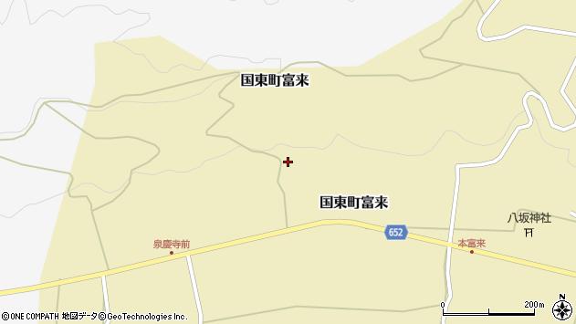 大分県国東市国東町富来1689周辺の地図