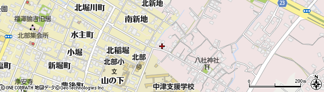 大分県中津市大塚138周辺の地図