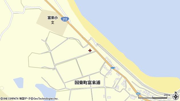 大分県国東市国東町富来浦936周辺の地図