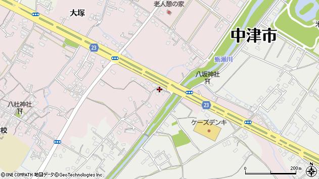 大分県中津市大塚399周辺の地図