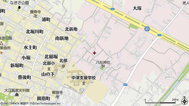 大分県中津市大塚149周辺の地図