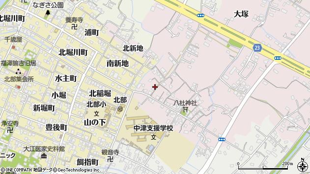 大分県中津市大塚146周辺の地図