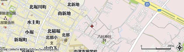 大分県中津市大塚179周辺の地図