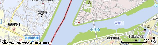 大分県中津市小祝21周辺の地図