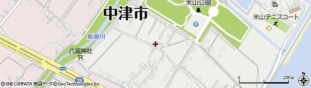 大分県中津市蛎瀬1328周辺の地図