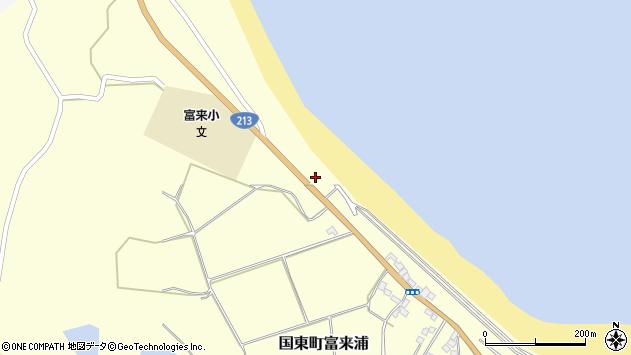 大分県国東市国東町富来浦911周辺の地図