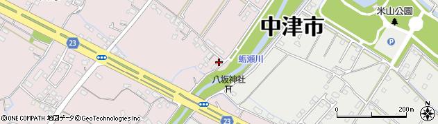 大分県中津市大塚592周辺の地図