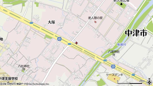 大分県中津市大塚364周辺の地図