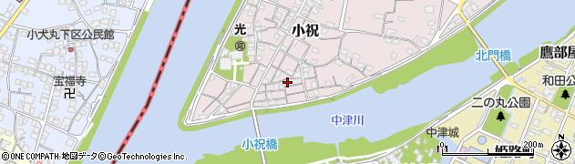 大分県中津市小祝103周辺の地図
