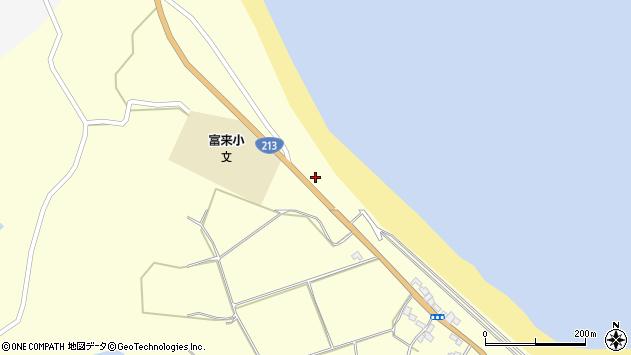 大分県国東市国東町富来浦877周辺の地図