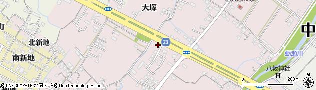 大分県中津市大塚425周辺の地図