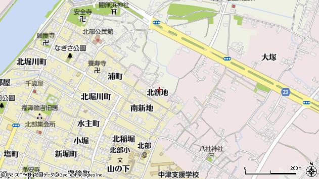 大分県中津市大塚193周辺の地図