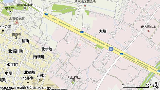 大分県中津市大塚282周辺の地図