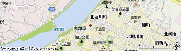 大分県中津市市場町周辺の地図