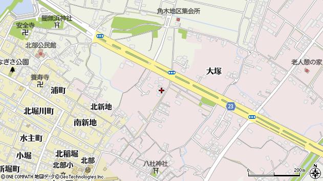 大分県中津市大塚286周辺の地図
