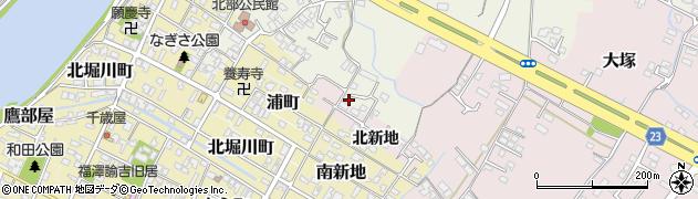 大分県中津市大塚195周辺の地図