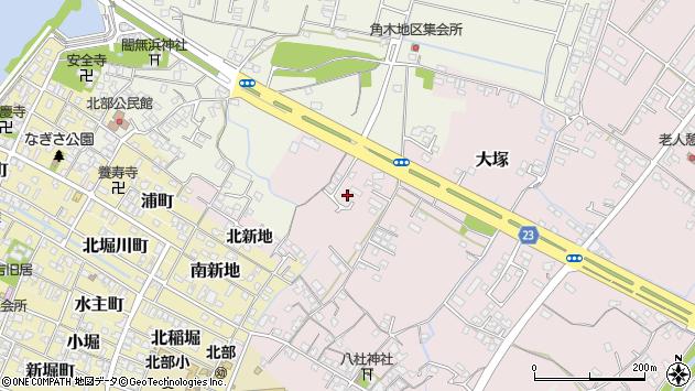 大分県中津市大塚207周辺の地図