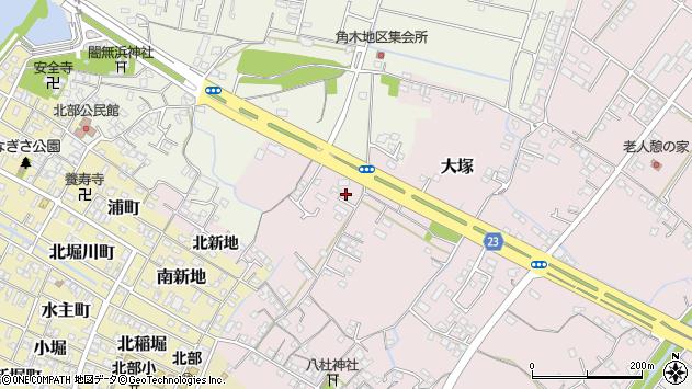 大分県中津市大塚283周辺の地図