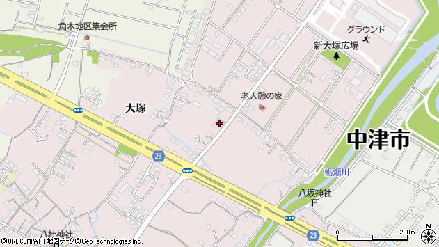 大分県中津市大塚360周辺の地図