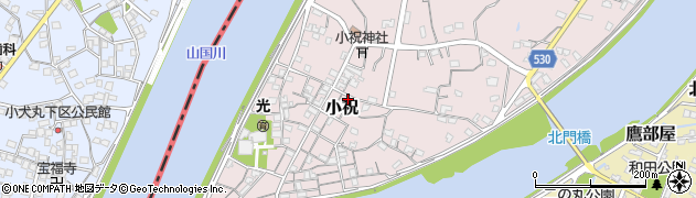 大分県中津市小祝315周辺の地図