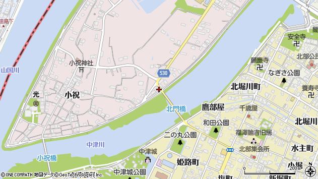 大分県中津市小祝370周辺の地図