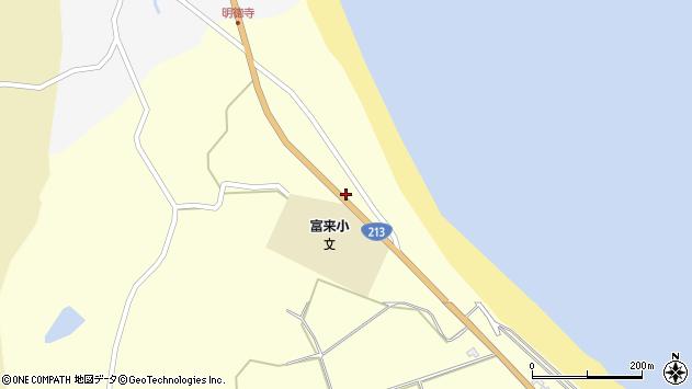 大分県国東市国東町富来浦737周辺の地図