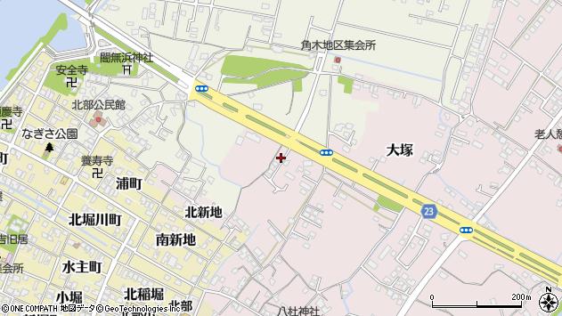 大分県中津市大塚291周辺の地図