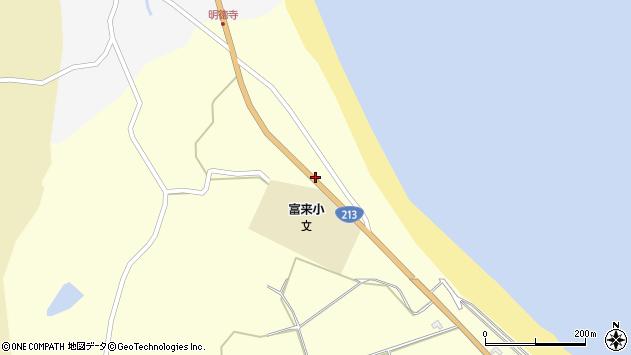 大分県国東市国東町富来浦874周辺の地図