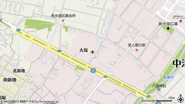 大分県中津市大塚334周辺の地図