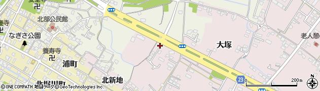 大分県中津市大塚292周辺の地図