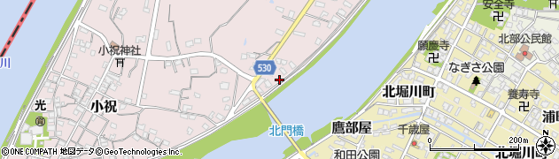 大分県中津市小祝347周辺の地図