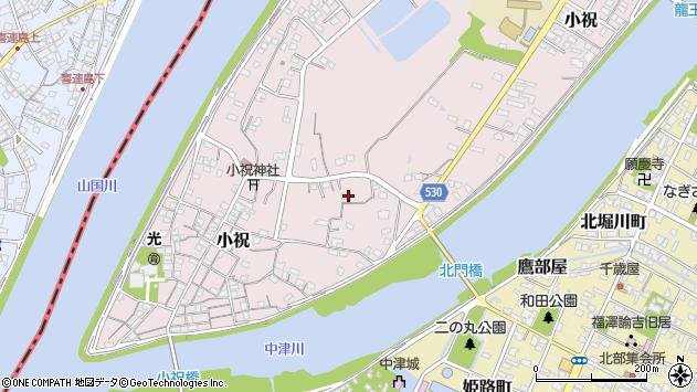 大分県中津市小祝359周辺の地図