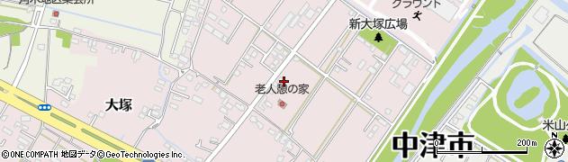 大分県中津市大塚724周辺の地図