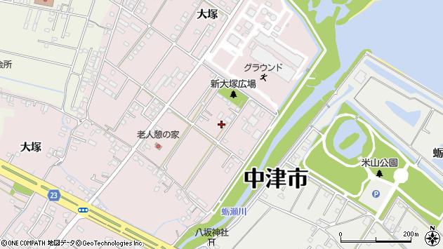 大分県中津市大塚703周辺の地図