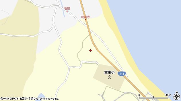 大分県国東市国東町富来浦695周辺の地図