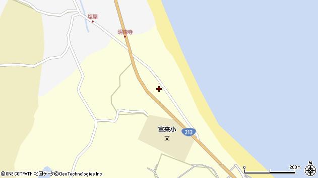 大分県国東市国東町富来浦685周辺の地図