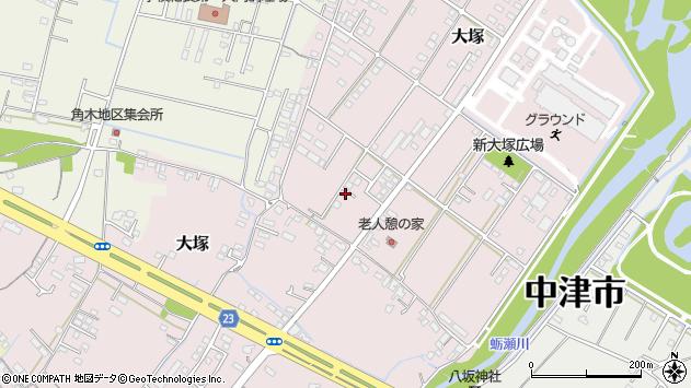 大分県中津市大塚782周辺の地図